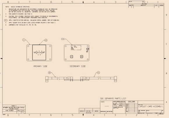Guidelines on how to design pcb from schematics printed board assembly drawing sample ccuart Images